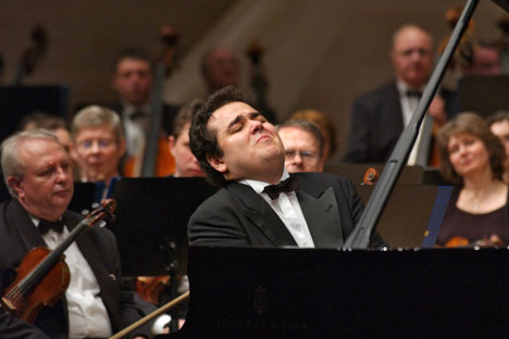 Il pianista russo Arkadi Arkadevich Volodos (Foto: Itar-Tass)
