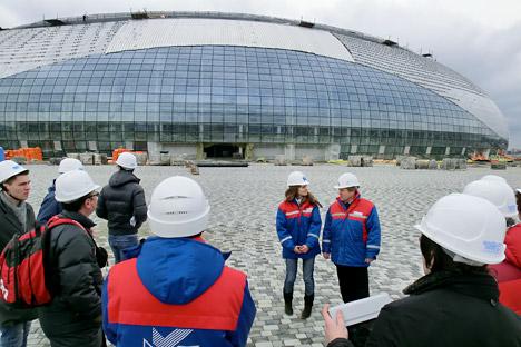 Tutte le infrastrutture per i Giochi Olimpici di Sochi sono pronti per essere testati, come assicura il capo del Comitato Olimpico Aleksandr Zhukov (Foto: Itar-Tass)