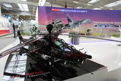 Si incrinano i rapporti commerciali tra Rosoboronexport, la più grande azienda russa di produzione di armi, e il Pentagono americano (Foto: Itar-Tass)