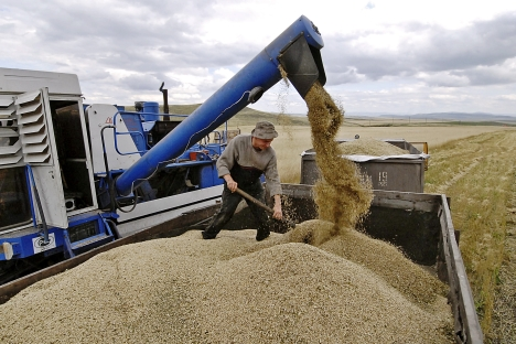 Il progetto di ricerca voluto dal Ministero delle Risorse naturali vuole verificare quali effetti sul clima e sulla salute umana apportano anche le attività agricole (Foto: Itar-Tass)