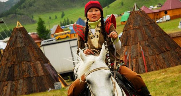 La rinascita culturale dell'Altai può essere vista nei villaggi di montagna (Foto: Focus Pictures)