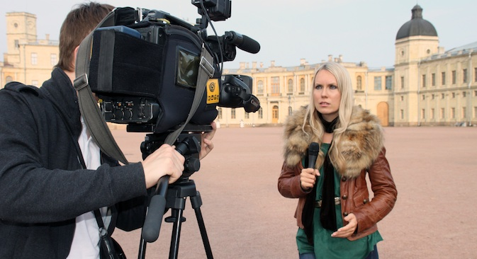 La giornalista russa Tanya Alehina: da dieci anni conosce il mondo della comunicazione italiana (Foto: dall'archivio personale)
