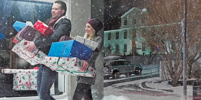 I russi si scambiano i doni nella notte di Capodanno (Foto: Gettyimages/Photobank)