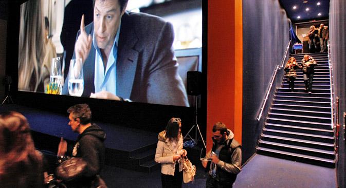 Cresce la produzione e la distribuzione delle opere cinematografiche russe (Foto: PhotoXPress)