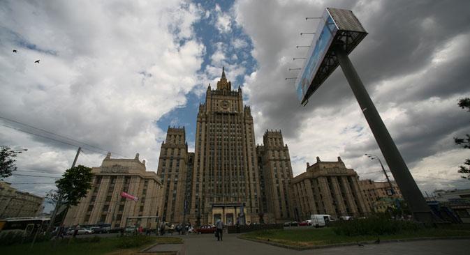 La sede del Ministero degli Esteri russo (Foto: PhotoXpress)