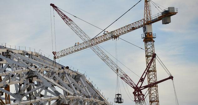 A Krasnodar il nuovo stadio sarà realizzato da una società italiana, che si è aggiudicata la commessa (Foto: Ria Novosti)