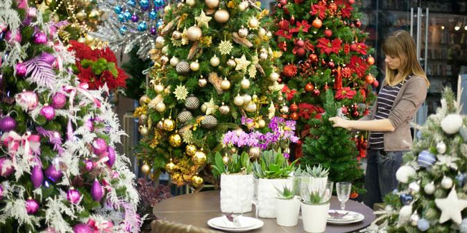 L'albero del Nuovo Anno non manca nelle case russe, così come nei locali e nelle piazze della Federazione (Foto: Itar-Tass)