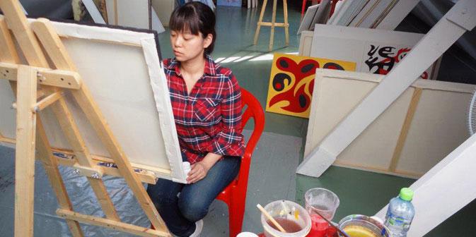 Nella residenza di Penza gli artisti possono soggiornare uno o due mesi per realizzare il loro progetto (Foto: Art-residences Penza)