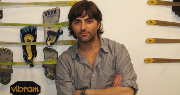 L'international marketing manager Vibram FiveFingers Giuseppe Grandinetti (Foto: archivio personale)