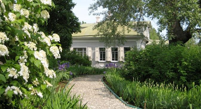 Veduta del giardino di Blok (Foto: Phoebe Taplin)