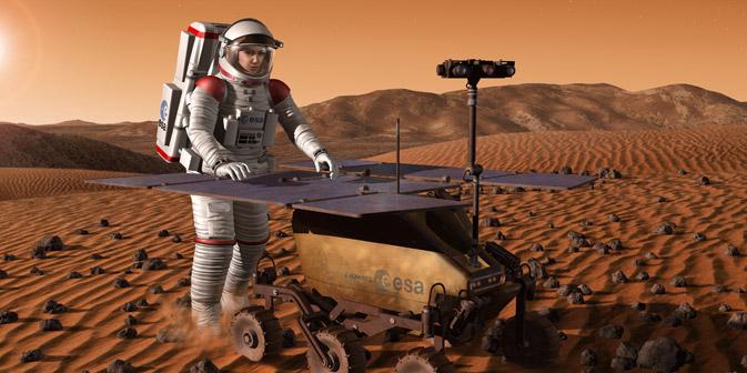 Scienziati e astronauti preparano una missione per comprendere come reagisce l'organismo umano durante una permanenza molto prolungata nello spazio (Foto: ESA / Press Photo)