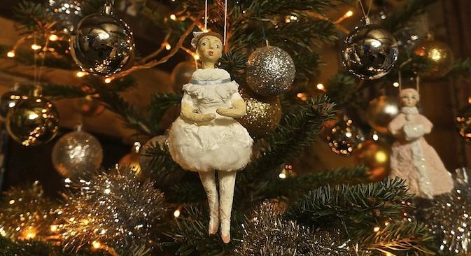 Le decorazioni dell'Albero del Nuovo Anno nel Museo degli addobbi natalizi di Klin (Foto: Marina Volkova)