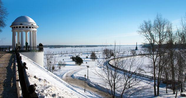 Una veduta invernale di Yaroslavl (Foto: Lori/LegionMedia)