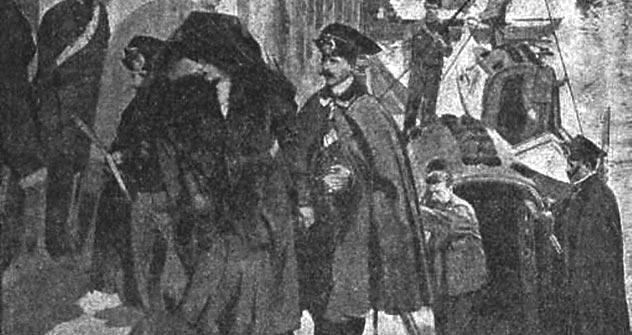 La contessa Tarnovskaja va in tribunale (Fonte: http://www.svoboda.org/content/article/388128.html)