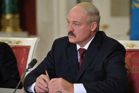 Il presidente della Bielorussia Aleksandr Lukashenko (Foto: Ria Novosti)