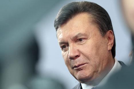 Il presidente ucraino Viktor Yanukovich (Foto: Itar-Tass)