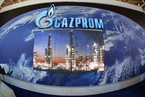Il colosso russo del gas Gazprom guarda sempre più a Oriente (Foto: RTR)