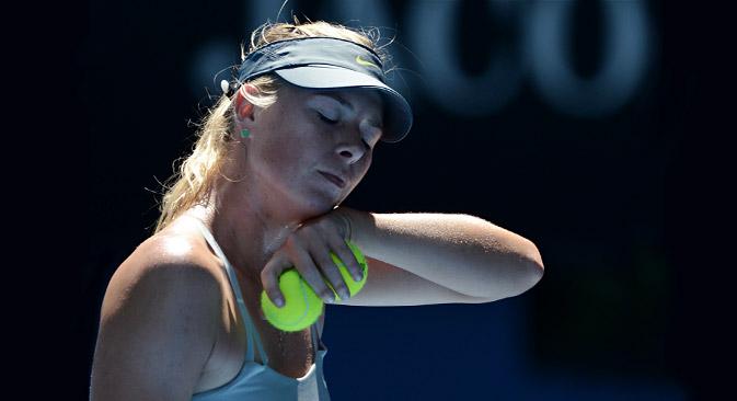 Maria Sharapova fuori dagli Australian Open 2013 (Foto: AFP/Eastnews)