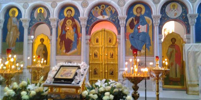 Nella Chiesa di Santa Caterina d'Alessandria a Roma per festeggiare il Natale ortodosso (Foto: Daniela Ciabattini)