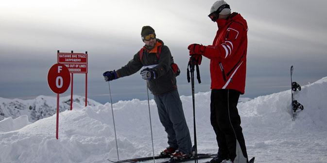 I tour operator sperano che le Olimpiadi invernali possano incoraggiare i turisti a visitare Sochi e Krasnaja Poljana (Foto: Itar-Tass)