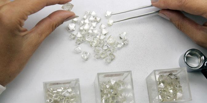 La società russa Alrosa ha stipulato un contratto di tre anni con la belga Laurelton Diamonds Inc. del marchio Tiffany (Foto: Ufficio stampa)