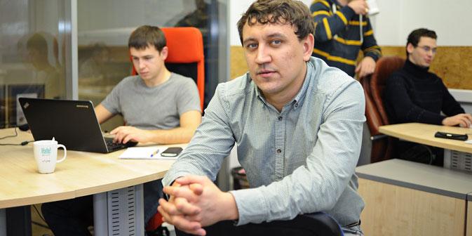 """Nel 2007, Ilya Korobeinikov, manager dell'azienda russa IT  """"Softline"""", ha fondato la start up Domosite.ru  (Foto: per gentile concessione di Domosite.ru)"""