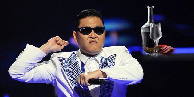"Il rapper sudcoreano Psy, re degli ascolti grazie al brano ""Oppah, Gangnam Style"" (Foto: Press Photo)"