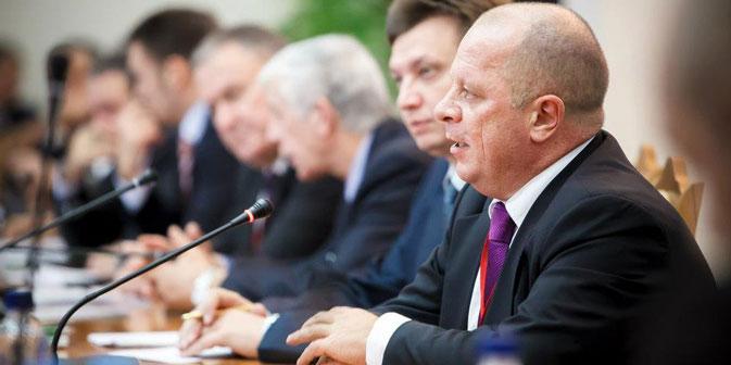 In primo piano, il presidente del Gim Unimpresa Vittorio Torrembini (Foto: per gentile concessione di Vittorio Torrembini)
