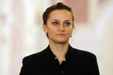 Galina Stepanenko, direttrice artistica ad interim del Corpo di ballo del Teatro Bolshoj di Mosca (Foto: Ria Novosti)