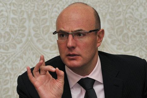 Il responsabile del comitato organizzatore, Dmitri Chernyshenko (Foto: Ria Novosti)