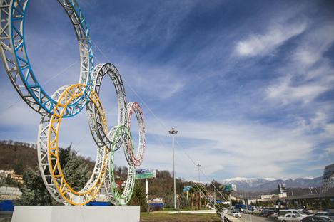 Verso l'ultimazione dei preparativi per i Giochi Olimpici invernali di Sochi 2014 (Foto: Itar-Tass)