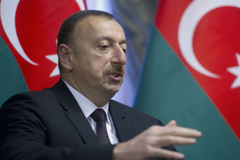 Ilham Aliyev, presidente dell'Azerbaijan (Foto: Ria Novosti)