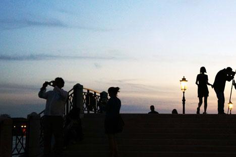 Turisti a Venezia (Foto: Yuri Lepskij)