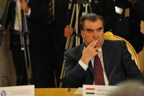 Emomali Rahmon, presidente del Tagikistan dal 1994, è quasi alla fine di questo suo ultimo mandato, il terzo, e potrebbe non ricandidarsi alle elezioni di novembre 2013 (Foto: Photoxpress)