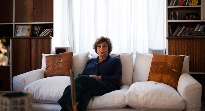 La politica, giornalista e scrittrice Luciana Castellina (Foto: Michele Palazzi)