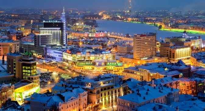 Kazan sarà la prossima capitale delle Universiadi (Foto: Slava Stepanov / Gelio)