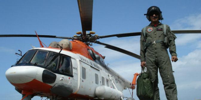 Un elicottero Mi-172 (Fonte: Flickr/Franle10)