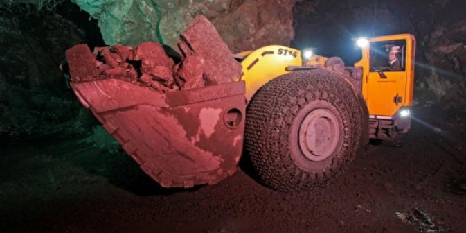 Le potenti escavatrici della miniera Tajmyrskij (Foto: Ufficio stampa)