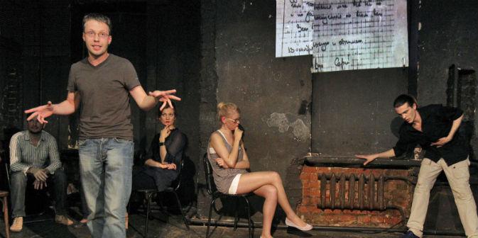 La prima della pièce su Sergei Magnitskij, portata in scena da Teatr.doc (Foto: Kommersant Photo)