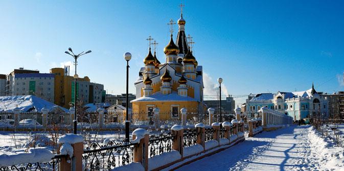 Una foto-ricordo di Yakutsk (Foto: Stefania Zini)