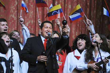 Il presidente del Venezuela Hugo Chavez è morto di tumore all'età di 58 anni, dopo 14 anni al potere (Foto: Itar-Tass)