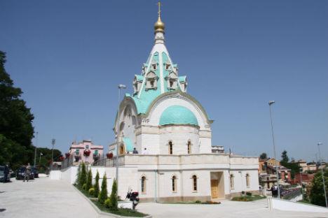 La chiesa russa di Santa Caterina Martire a Roma (Foto: Ria Novosti)