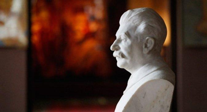 Un busto di Iosif Stalin, che morì il 5 marzo del 1953 (Foto: Ap)