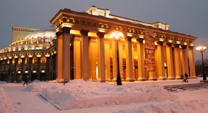 Il centro storico di Novosibirsk è un insieme di edifici di epoca diversa, moltissimi in stile sovietico (Foto: Yuri Sovtsov)
