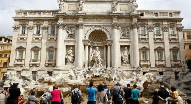 I turisti russi scelgono sempre più le vacanze in Italia: nel 2012 sono stati ben 800mila i visitatori della Federazione nel Belpaese (Foto: Reuters / Vostock Photo)