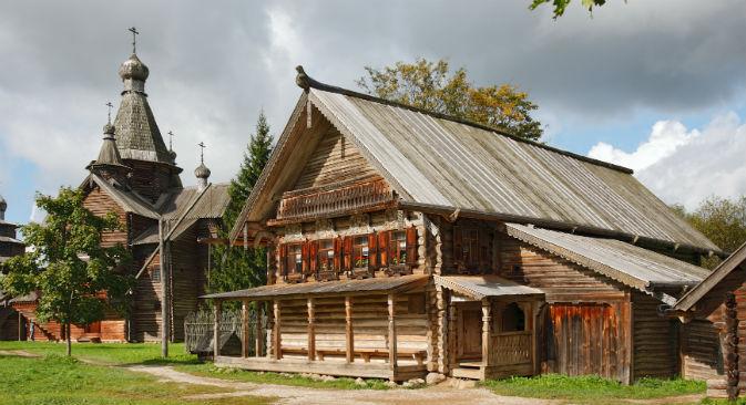 Il museo di Vitoslavitsy a Veliky Novgorod (Foto: Itar-Tass)