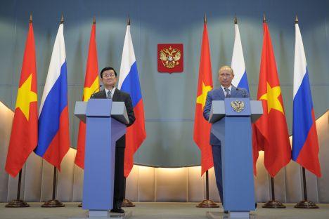 Il Vietnam mostra grande interesse per l'Unione doganale di Russia, Bielorussia e Kazakhstan (Foto: Itar-Tass)