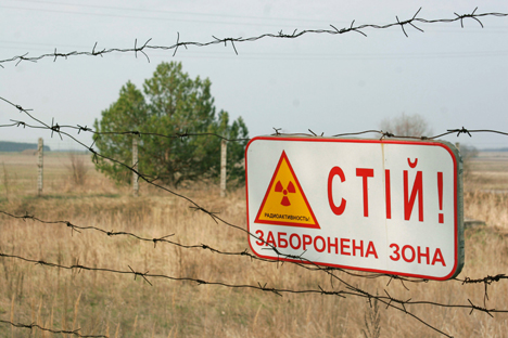 La catastrofe di Chernobyl viene ricordata nell'ambito della Giornata Internazionale della commemorazione in onore delle vittime delle avarie e catastrofi radioattive (Foto: Sergei Starostenko / Ria Novosti)
