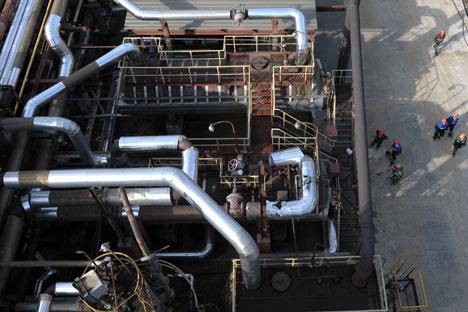 Gazprom pronta a un'intesa con l'olandese Gasunie (Foto: Grigory Sysoev / RIA Novosti)
