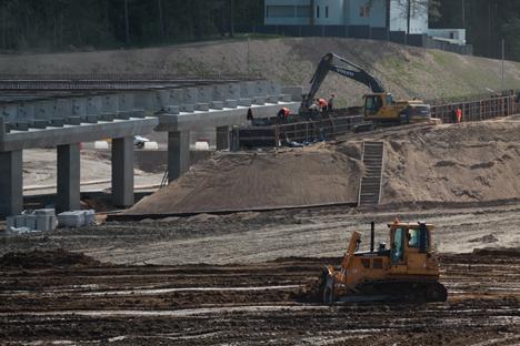 L'italiana Astaldi parteciperà alla costruzione dell'anello autostradale di San Pietroburgo (Foto: Itar-Tass)